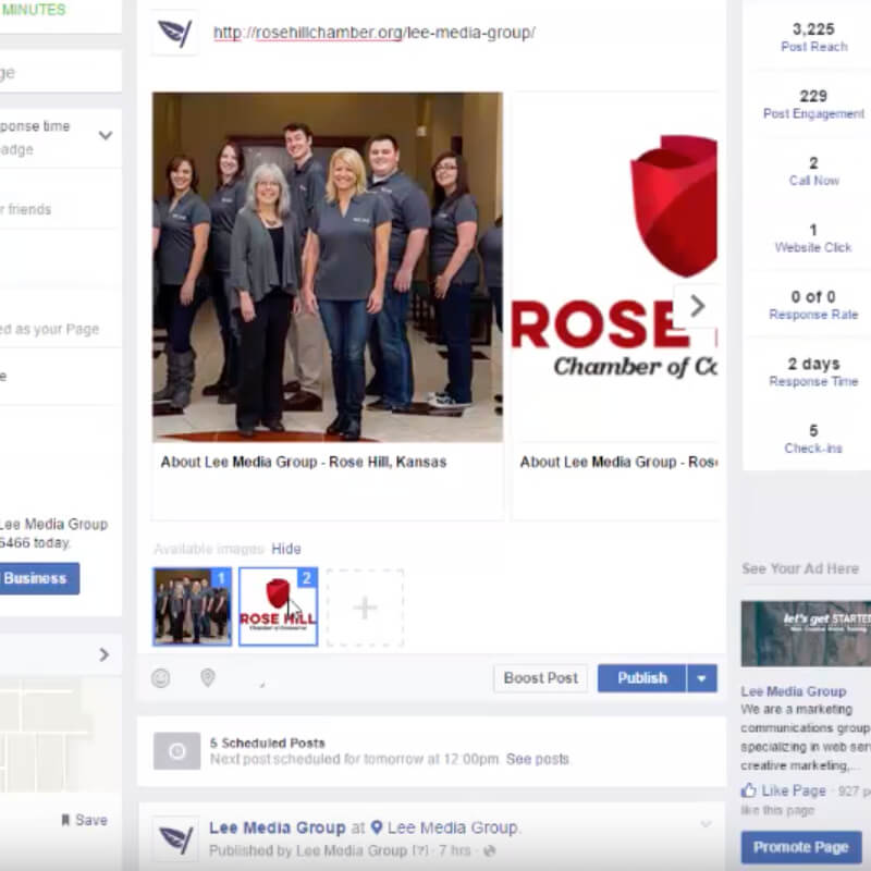 How to Share Links on a Business Facebook Page