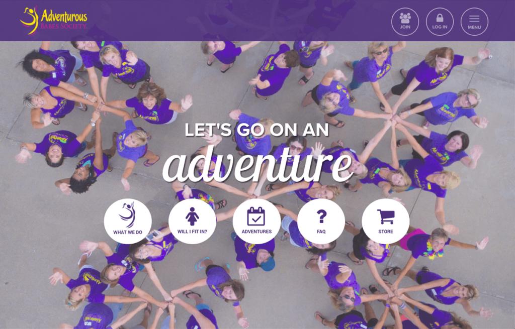 The Adventurous Babes Society's custom WordPress membership site was recently overhauled.