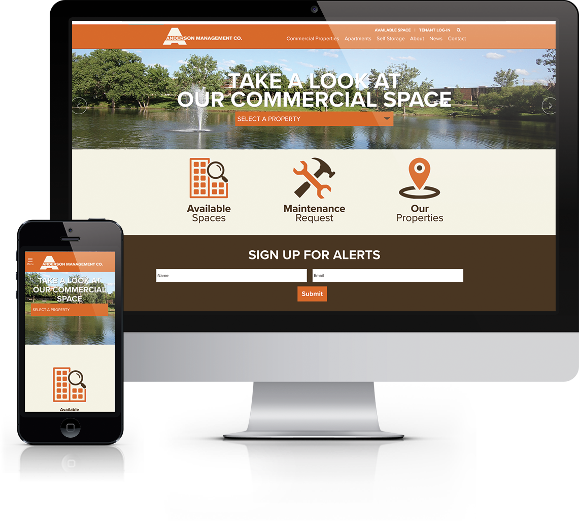 Custom WordPress Website for Wichita Area Property Management Firm