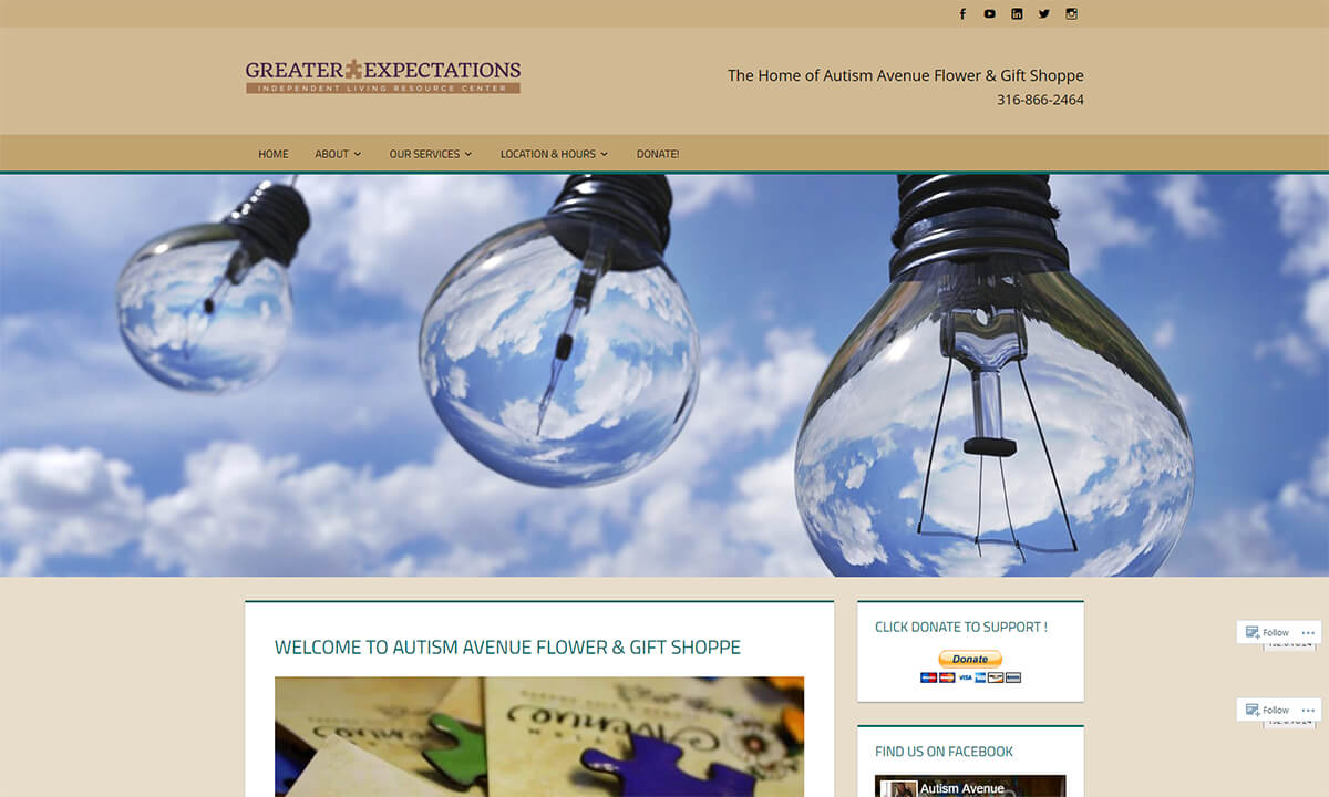 Autism Avenue Old Website