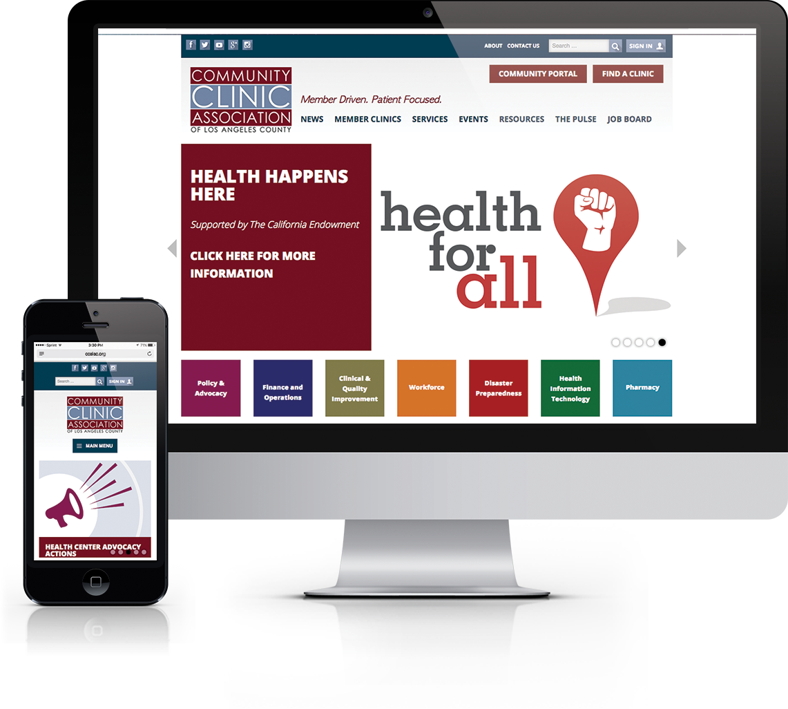 WordPress membership website for healthcare clinics in Los Angeles