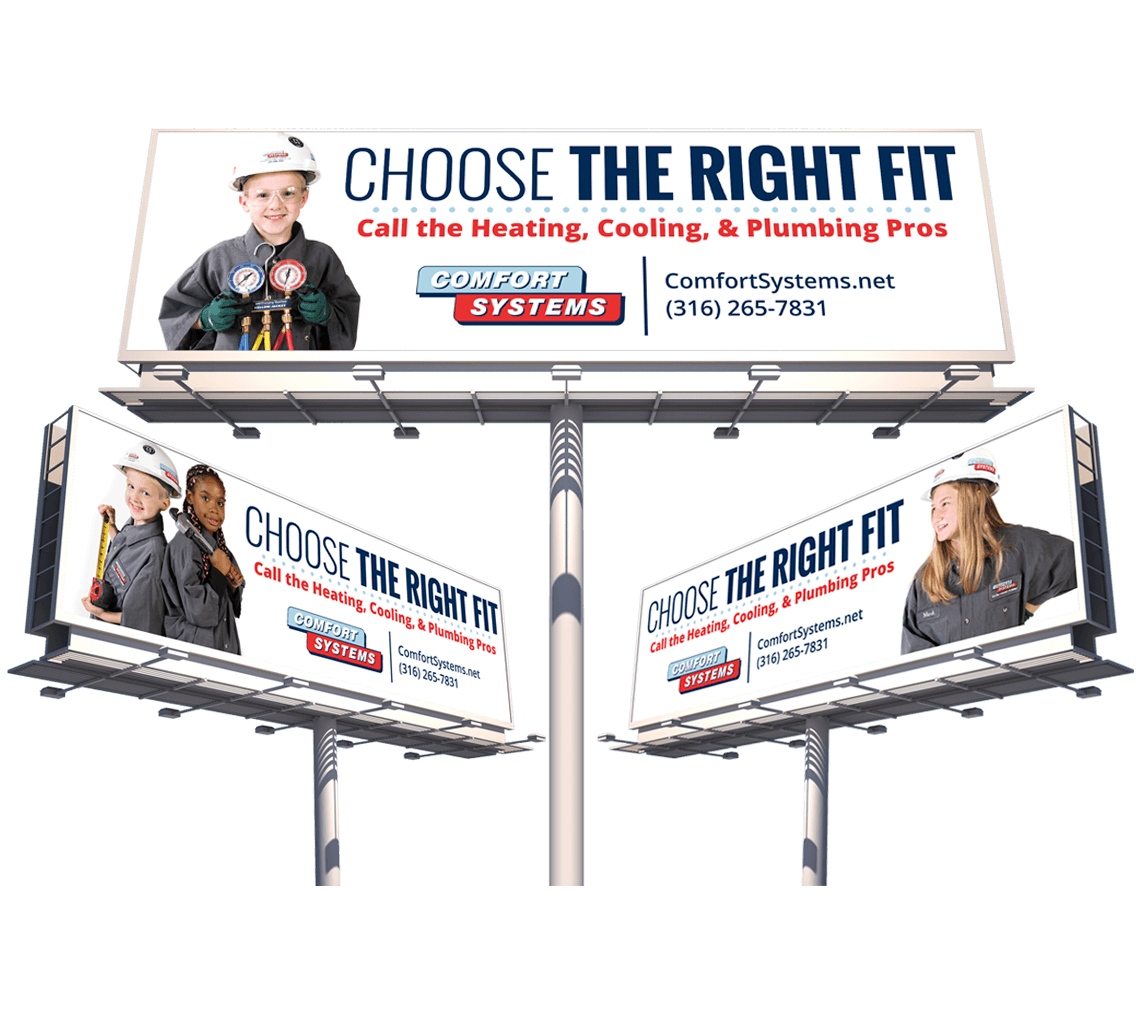 Integrated marketing campaign to promote Wichita area HVAC company