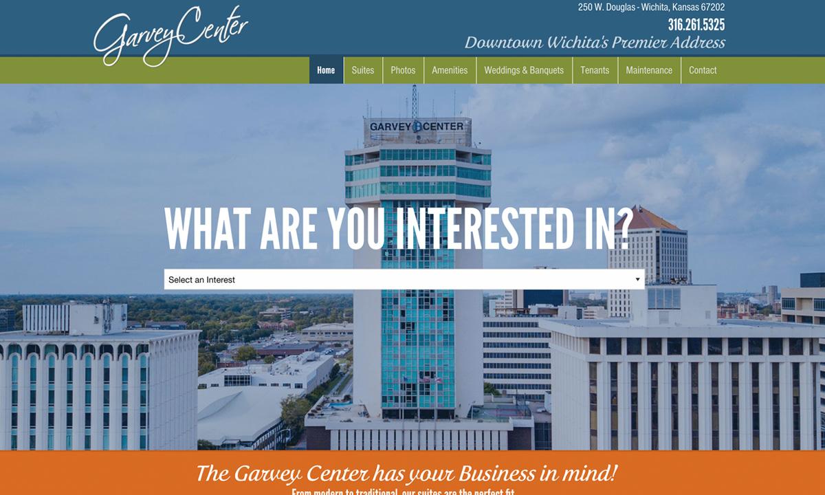 Garvey Center Website - After