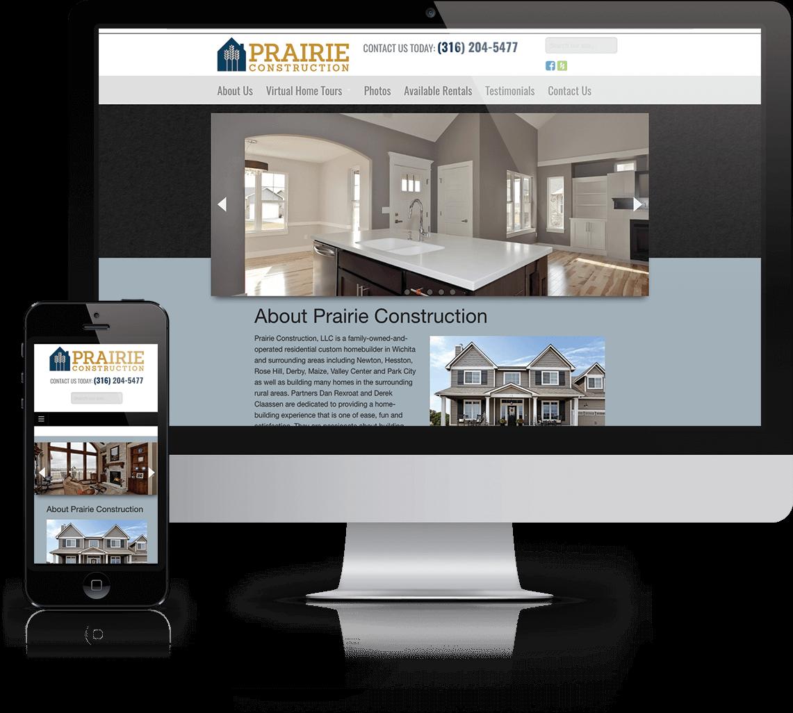New WordPress website for Wichita custom home builder