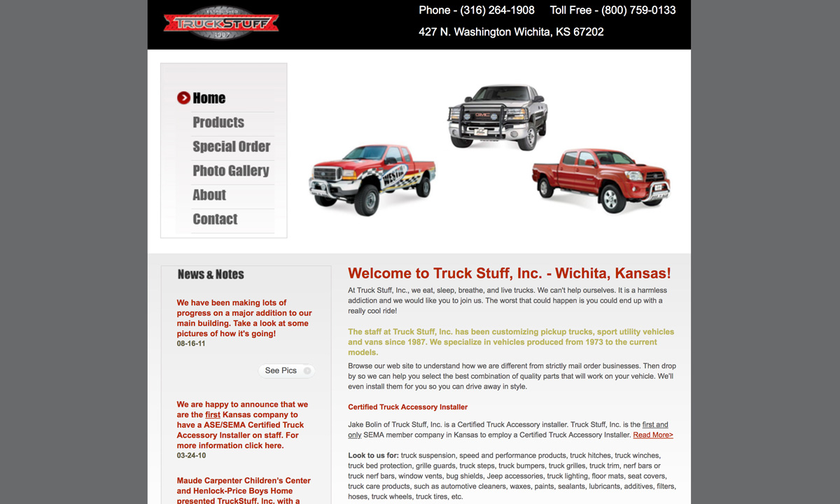 Truck Stuff - Old Website