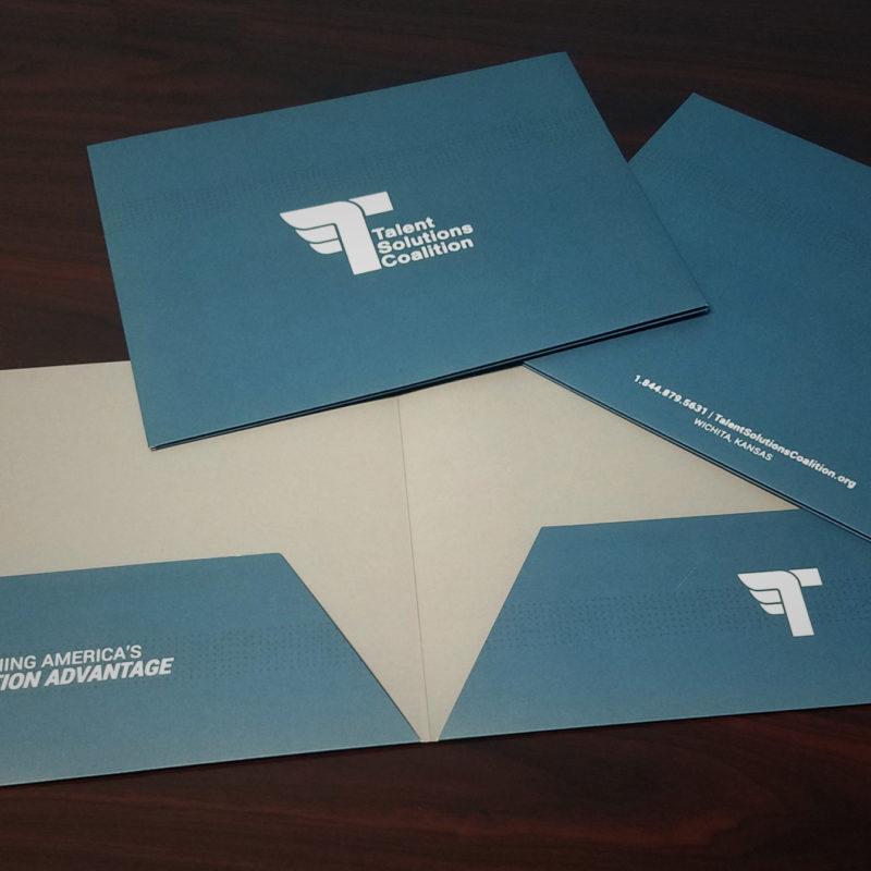 Talent Solutions Coalition Pocket Folders