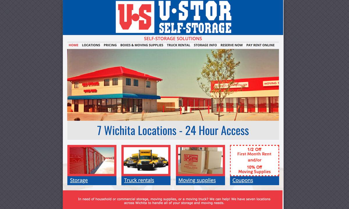 U-Stor Wichita - Before