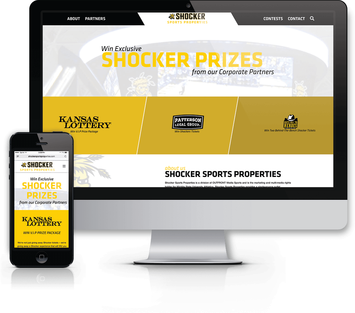 Custom Shocker ticket giveaway landing pages powered by WordPress