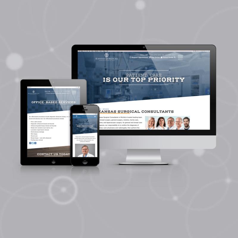 Kansas Surgical Consultants Website