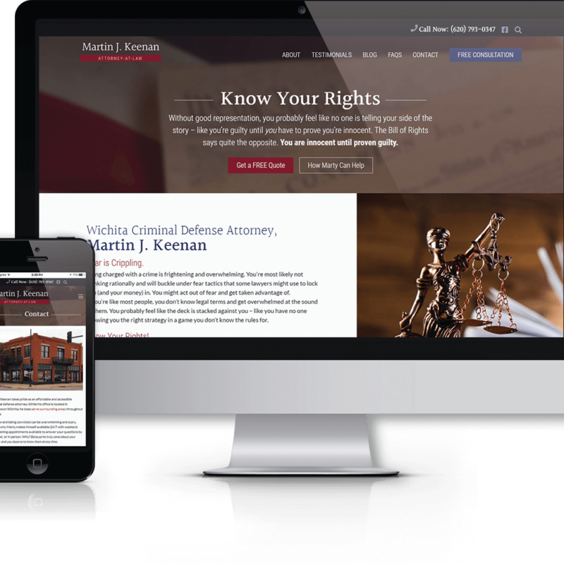 marty keenan wichita criminal defense lawyer