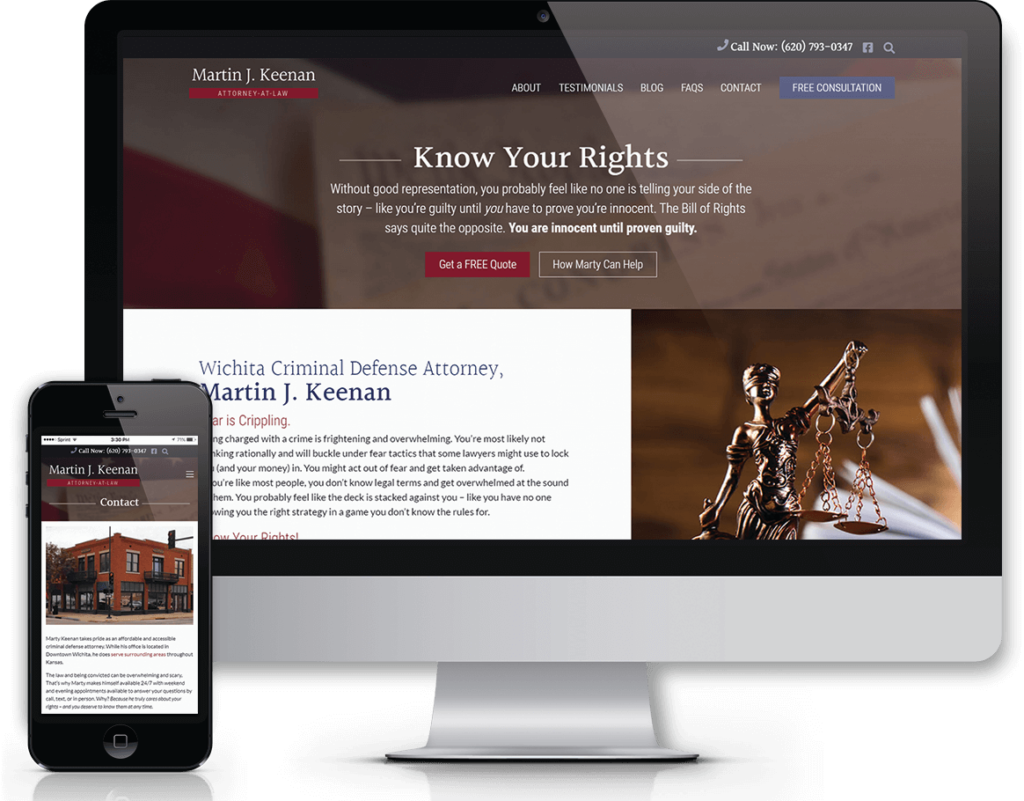 martin j keenan wichita criminal defense lawyer