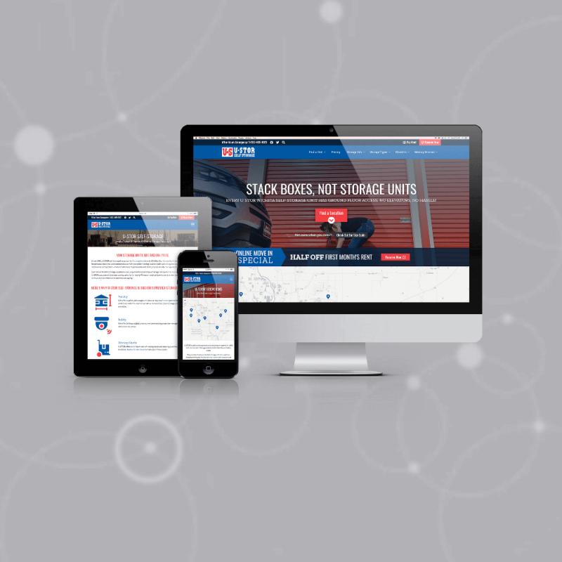 u-stor wichita website
