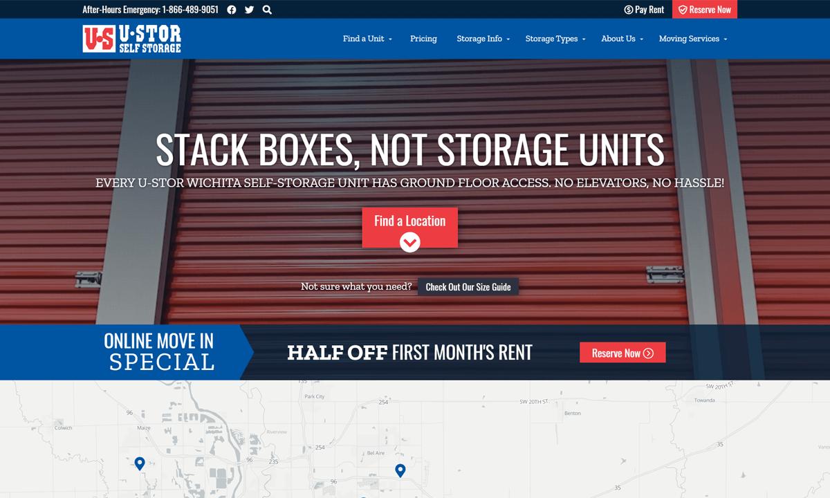 U-STOR New Website