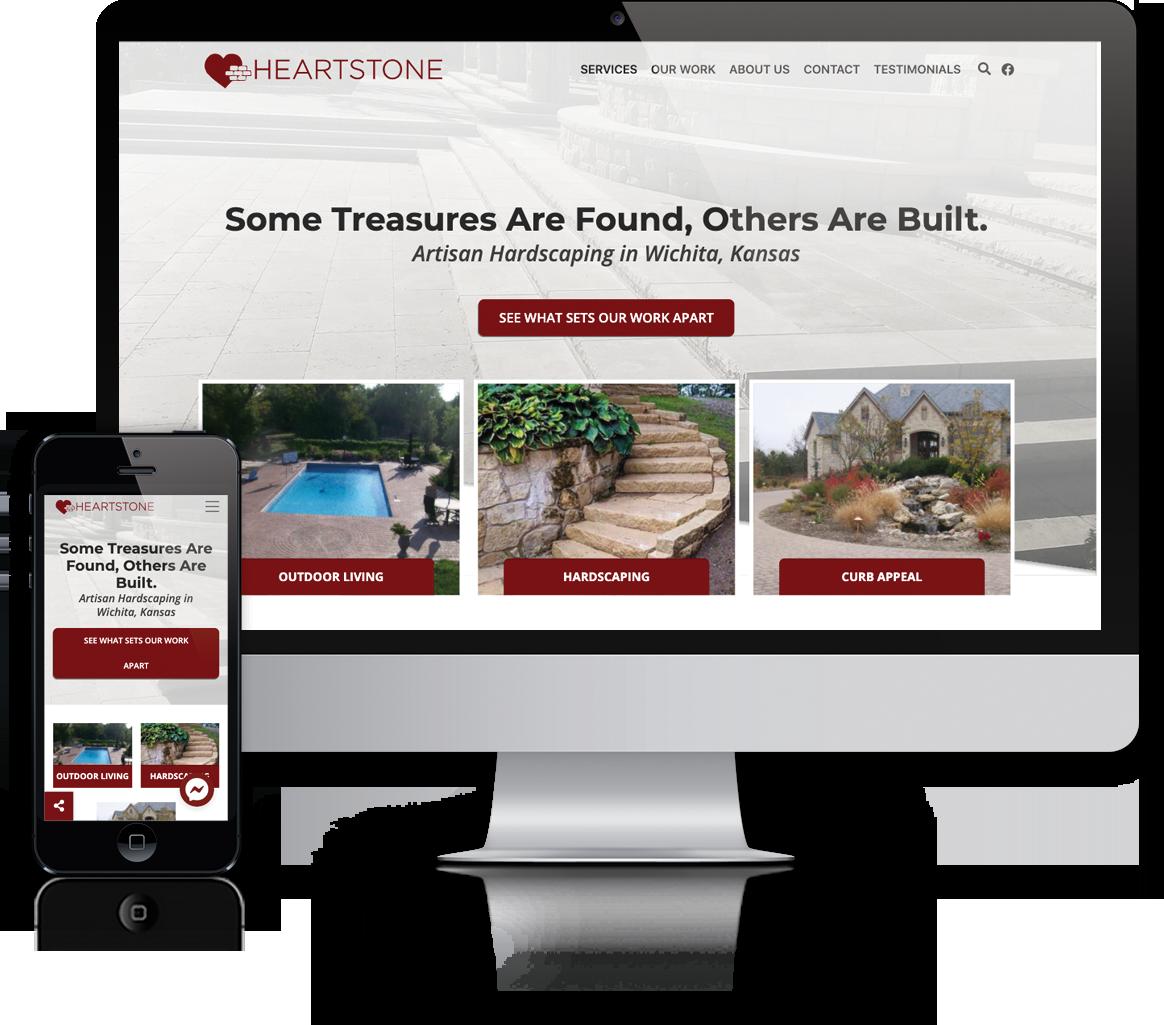 Website design Heartstone