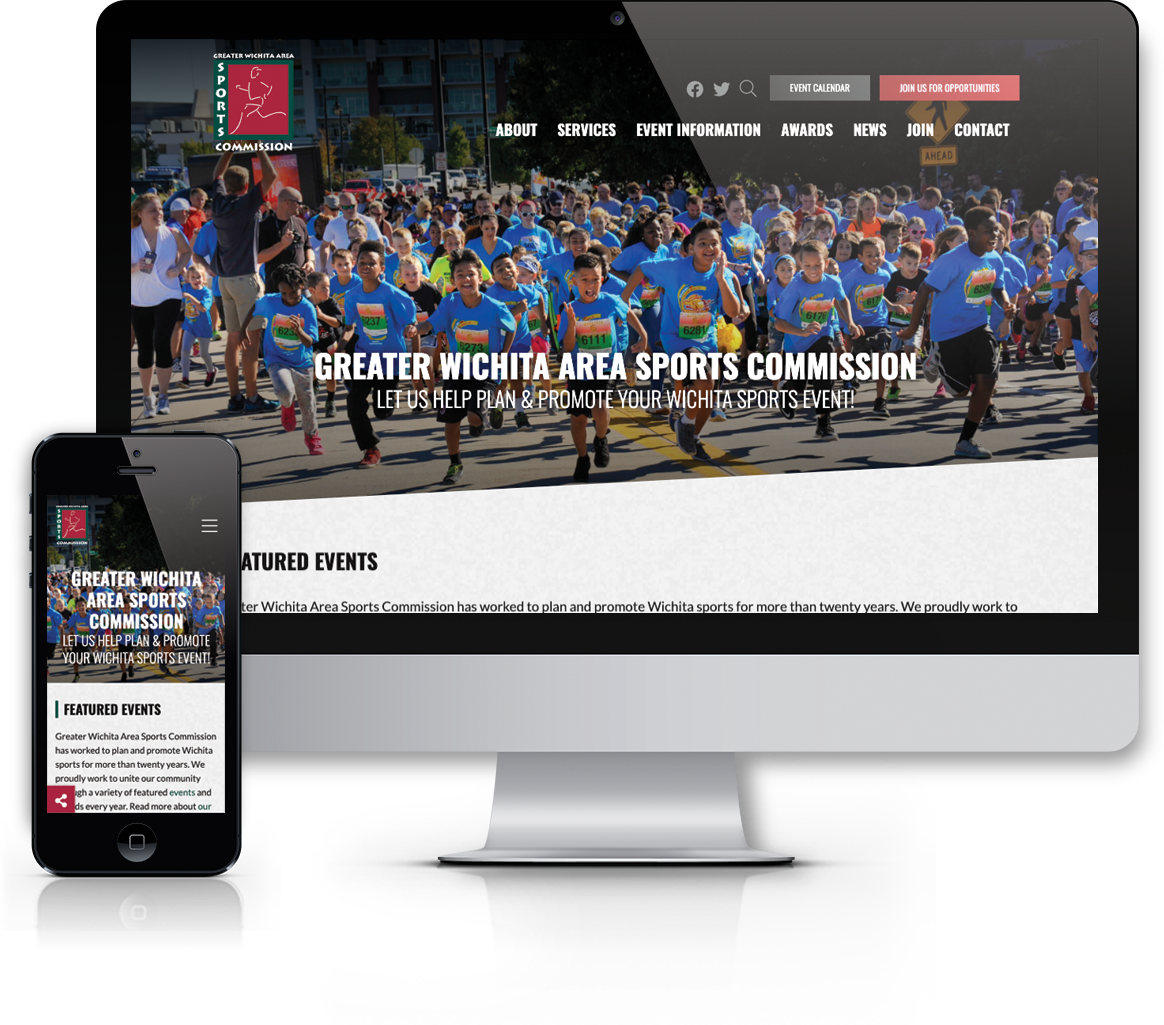 greater wichita area sports commission website